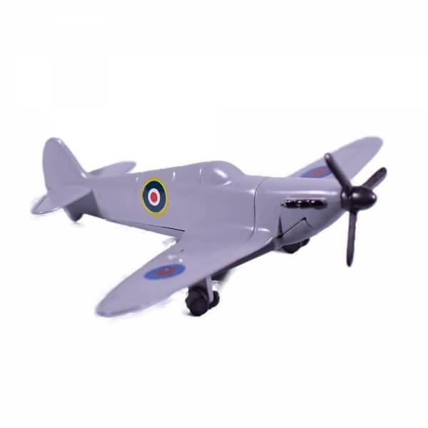 ξύστρα-μινιατούρα-αεροπλάνο-spitfire-γκρι-giftland