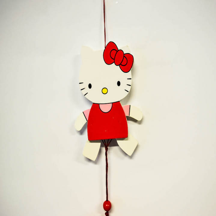Jumping jack Kitty 17cm-0