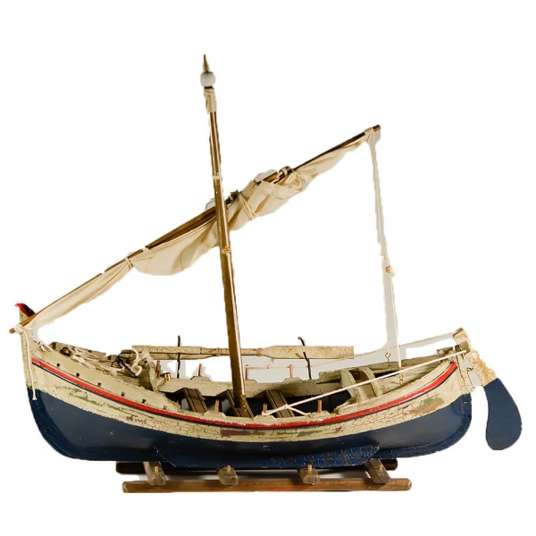 ξύλινη-διακοσμητική-παλαιωμένη-βάρκα-με-πανί-45cm-giftland