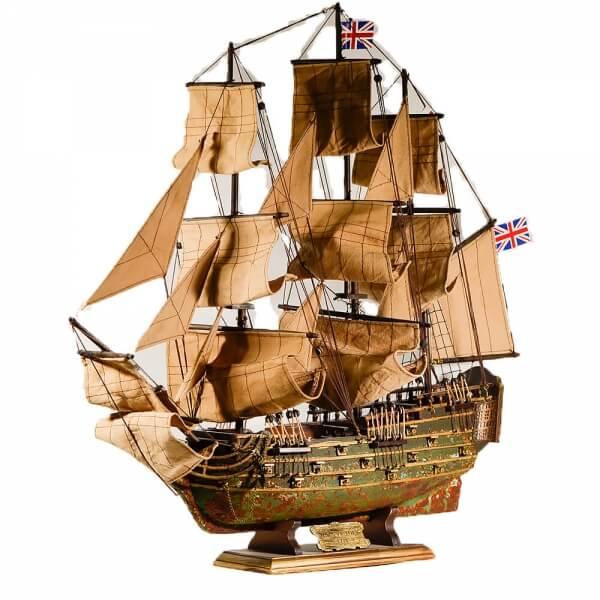 ξύλινο-διακοσμητικό-καράβι-κουρσάρος-hms-victory-60cm-giftland