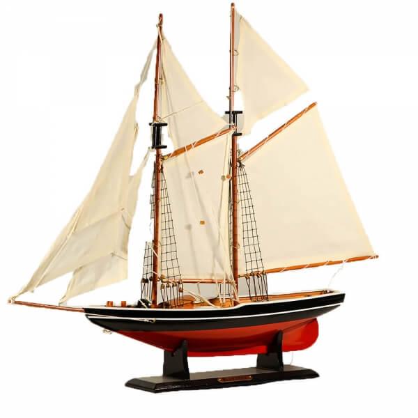 ξύλινο-διακοσμητικό-καράβι-ιστιοπλοϊκό-bluenose-65cm-giftland