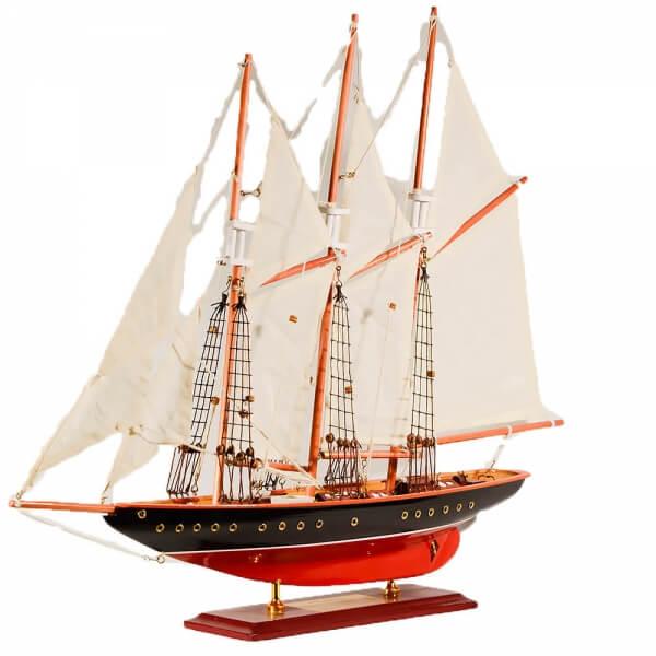 ξύλινο-διακοσμητικό-καράβι-ιστιοπλοϊκό-atlantic-60cm-giftland