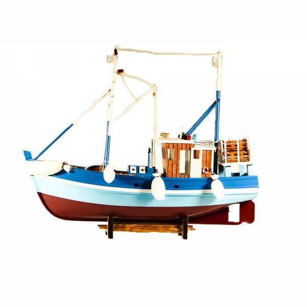 ξύλινο-διακοσμητικό-καράβι-καίκι-46cm-giftland