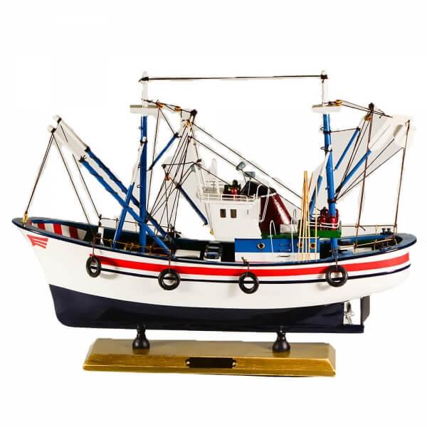 ξύλινο-διακοσμητικο-καράβι-καίκι-42cm-giftland