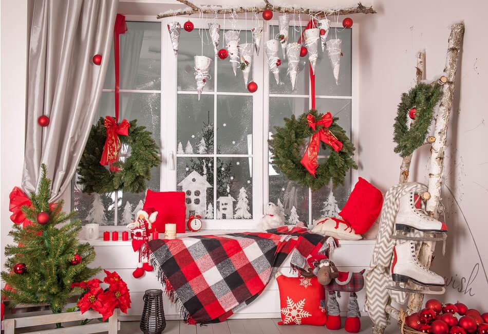 8 Προτάσεις για Πρωτότυπη Χριστουγεννιάτικη Διακόσμηση - Προσθήκη κόκκινων στοιχείων - Giftland