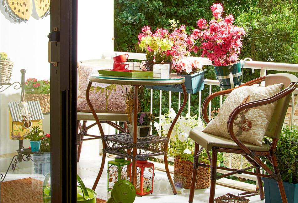 Οι πιο στιλάτες ιδέες για να διακοσμήσεις μοναδικά το μπαλκόνι του σπιτιού σου - Άλλαξε το δάπεδο - Giftland