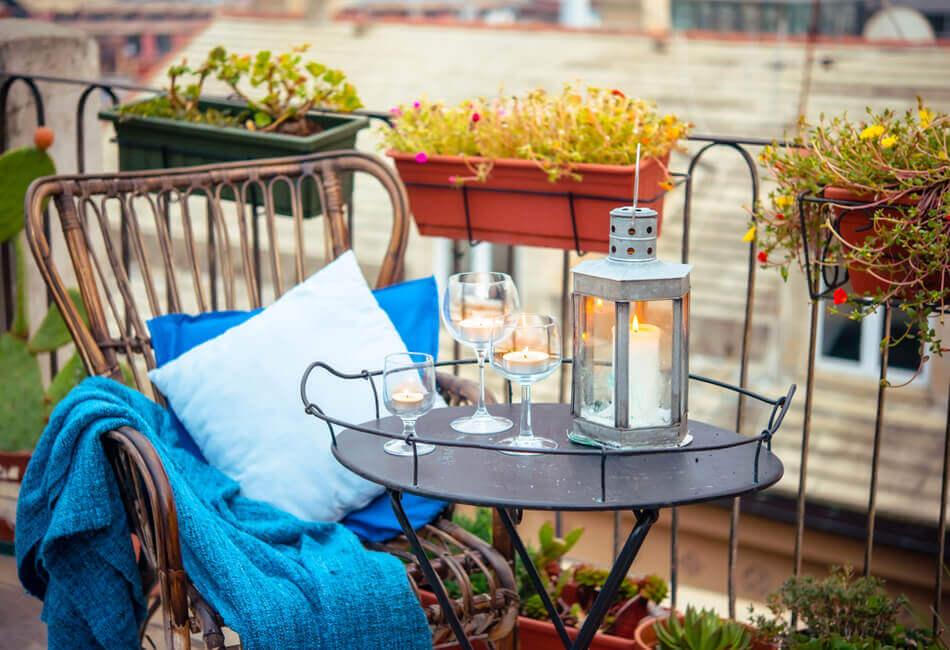 Οι πιο στιλάτες ιδέες για να διακοσμήσεις μοναδικά το μπαλκόνι του σπιτιού σου - Δώσε ζωντάνια - Giftland