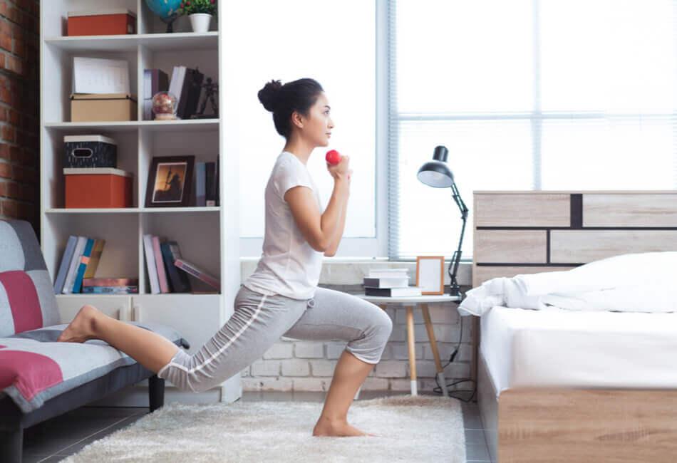 6+1 δημιουργικά πράγματα που μπορείς να κάνεις μέσα στο σπίτι - Κάνε γυμναστική -giftland
