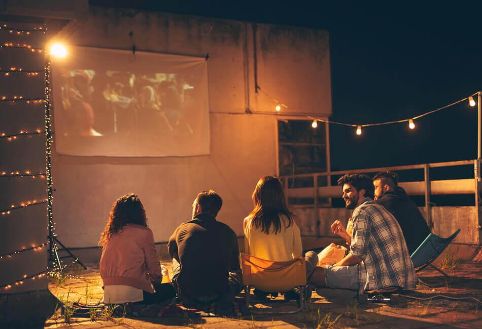 Διαμόρφωση Μπαλκονιού για Παιδιά - Δημιουργήστε έναν αυτοσχέδιο κινηματογράφο - Giftland
