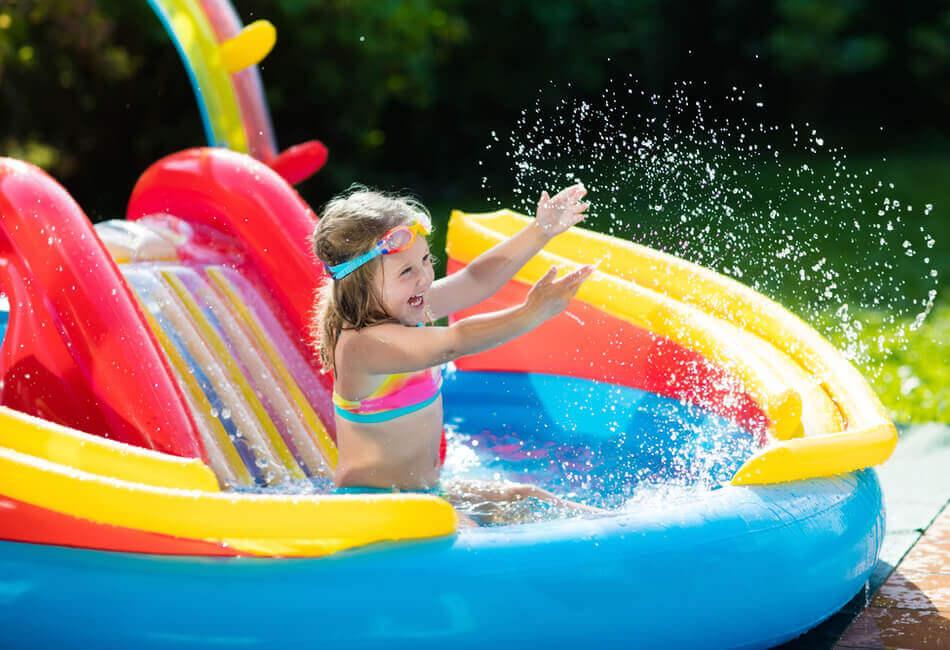 Διαμόρφωση Μπαλκονιού για Παιδιά - Προσθέστε μια φουκσωτή πισίνα - Giftland
